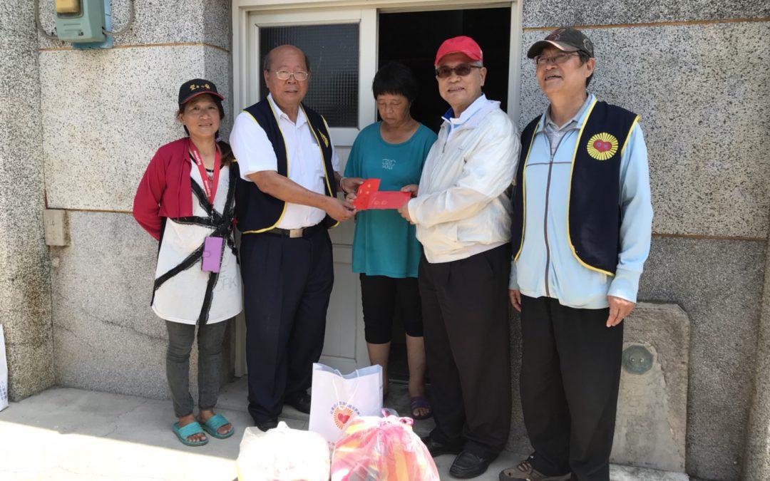 中華人權協會理事長林天財律師親訪澎湖 關懷獨居老人及隔代教養之小朋友